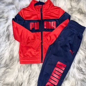 Boys Puma Sweatsuit